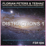 FLORIAN PETERS/TESHAZ - Distractions 1 (Front Cover)