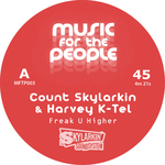 COUNT SKYLARKIN/HARVEY K-TEL - Freak U Higher (Front Cover)