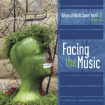 VARIOUS - Facing The Music: Voices Of World Savvy Youth Vol 3 (Front Cover)