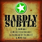 HARDLY SUBTLE - Green EP (Back Cover)