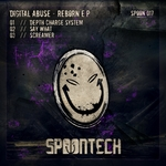 DIGITAL ABUSE - Reborn EP (Front Cover)