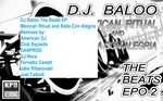 DJ BALOO - The Beats EP 2 Mexican Ritual & Baila Con Alegria (Back Cover)