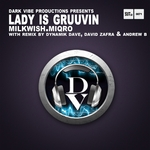 MILKWISH/MIQRO - Lady Is Gruuvin (Front Cover)