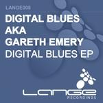 DIGITAL BLUES (AKA GARETH EMERY) - Digital Blues EP (Front Cover)