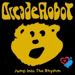 ARCADE ROBOT - Jump Into The Rhythm (Front Cover)