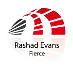 EVANS, Rashad - Fierce (Front Cover)