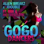JDOUBLE - GoGo Dancers (Front Cover)
