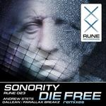 SONORITY - Die Free (Front Cover)