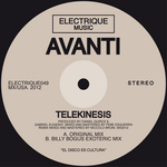 AVANTI - Telekinesis (Front Cover)