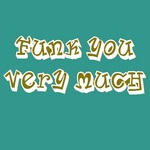 FUNK YOU VERY MUCH - Funk You Very Much Volume 27 (Front Cover)