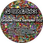 PANG/TONY ROMERA/COACH ROEBUCK/ANTHONY PROVENZALE/POKA - GrooveTraxx Sampler 002 (Front Cover)