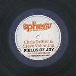 CHRIS DRIFTER/STEVE VALENTINE - Fields Of Joy (Front Cover)