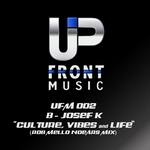 JOZEF K - Culture Vibes & Life (Front Cover)