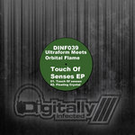 ULTRAFORM MEETS ORBITAL FLAME - Touch Of Senses (Front Cover)
