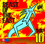 VARIOUS - Beast Of The East: Vol 10 (Front Cover)
