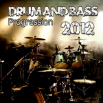 VARIOUS - Drum & Bass Progression 2012 (Front Cover)
