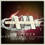 DIRTYROCK feat DAVID REED - Stay Alive (Front Cover)