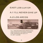 EDAME, Esteban - East Lost Luv EP (Front Cover)