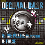 DECIMAL BASS feat VERSION - The Puzzle (Front Cover)