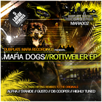 DJ ALPHA/HIGHLY TUNED/SYANIDE/GUSTO/DB COOPER - Rottweiler EP (Front Cover)