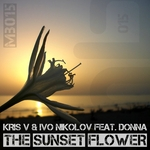 KRIS V & IVO NIKOLOV feat DONNA - The Sunset Flower (Remixed) (Front Cover)