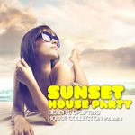 VARIOUS - Sunset House Party, Vol 4 (Front Cover)