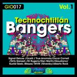 VARIOUS - Technochtitlan Bangers Vol.1 (Front Cover)