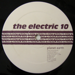 ELECTRIC 10, The - Planet Earth EP (Front Cover)