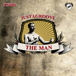 JUSTAGROOVE - The Man (Front Cover)