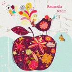 AMANDA feat THE LOST DISKO SUPERSTAR - Nycc Advance (Front Cover)