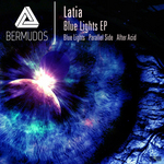 LATIA - Blue Lights EP (Front Cover)