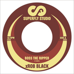 XROB BLACK - Boss The Ripper (Front Cover)