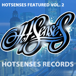 VARIOUS - Hotsenses Featured Vol 2 (Front Cover)