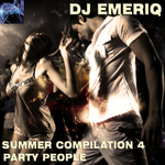 DJ EMERIQ - Summer Compilation 4 Party People (Front Cover)