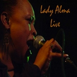 LADY ALMA/THE BLACK TIE AFFAIR - Lady Alma Live (Front Cover)