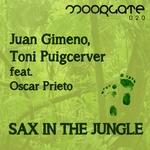 GIMENO, Juan/TONI PUIGCERVER feat OSCAR PRIETO - Sax In The Jungle (Front Cover)