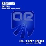 KARANDA - Skyfall (Front Cover)