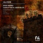MAREZ, Eros - Corruption In Monfire EP (Front Cover)