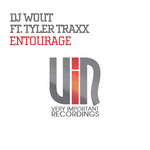 DJ WOUT feat TYLER TRAXX - Entourage (Front Cover)