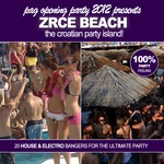 VARIOUS - Pag Opening Party 2012 Presents Zrce Beach! (The Croatian Party Island!) (Front Cover)