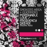 SMOKERS AREA/GUERRERO - Perishable Love (Front Cover)