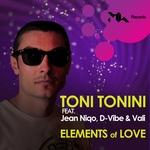 TONINI, Toni feat JEAN NIQO/D VIBE/VALI - Elements Of Love (Front Cover)