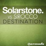 SOLARSTONE vs SIROCCO - Destination (Front Cover)
