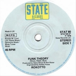 ROKOTTO - Funk Theory (Front Cover)