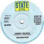 DELEGATION - Honey I'm Rich (Front Cover)