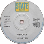 DELEGATION - Oh Honey (Front Cover)
