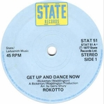 ROKOTTO - Get Up & Dance Now (Front Cover)