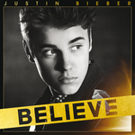 JUSTIN BIEBER - Believe (Front Cover)