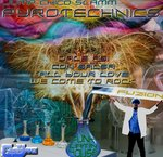 JUMP CHICO SLAMM - Pyrotechnics EP (Front Cover)