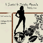 H JUSTINI feat ZIZIPHO MPOSULA - Happy Now (Front Cover)